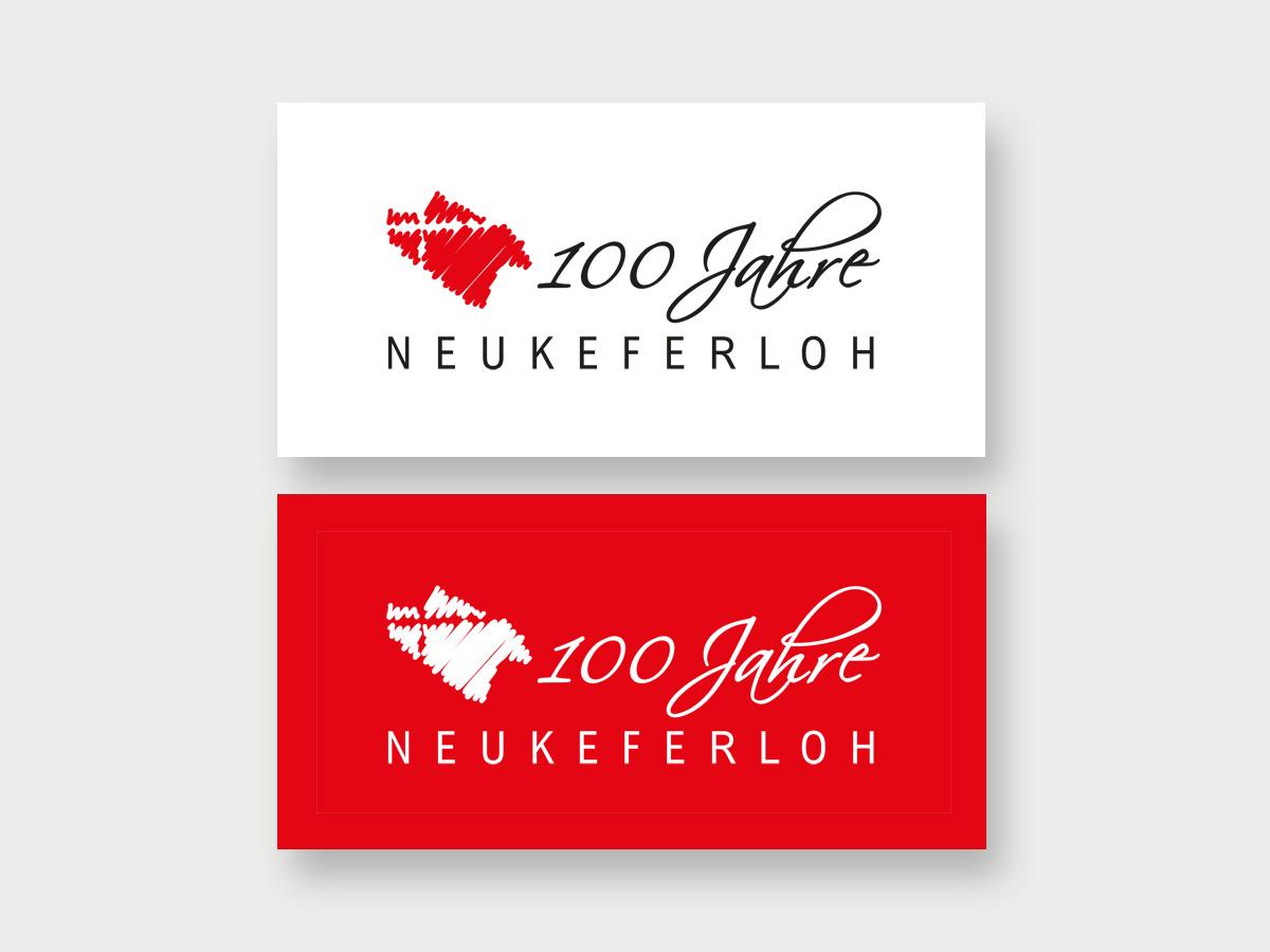 100-Jahre-Neukeferloh-Logo