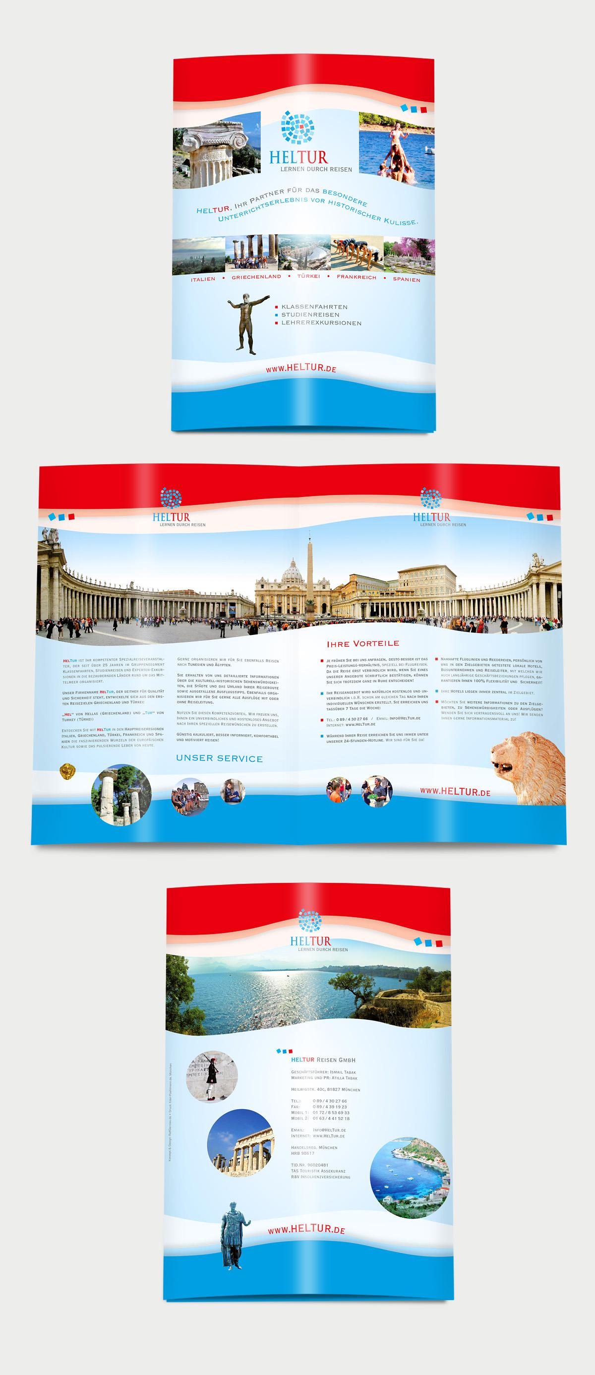 HelTur-Reisen-Folder