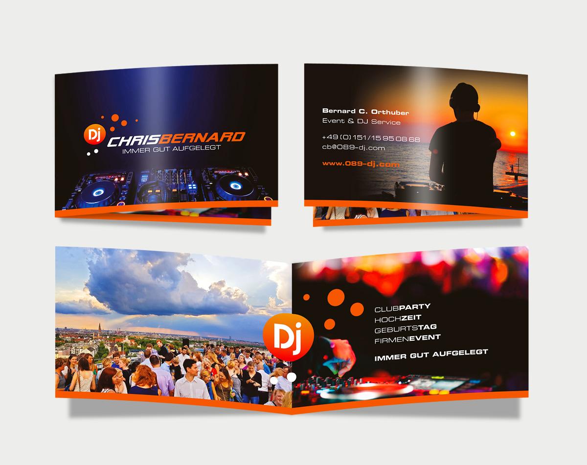 Dj-Chris-Bernard-Flyer-Visitenkarten