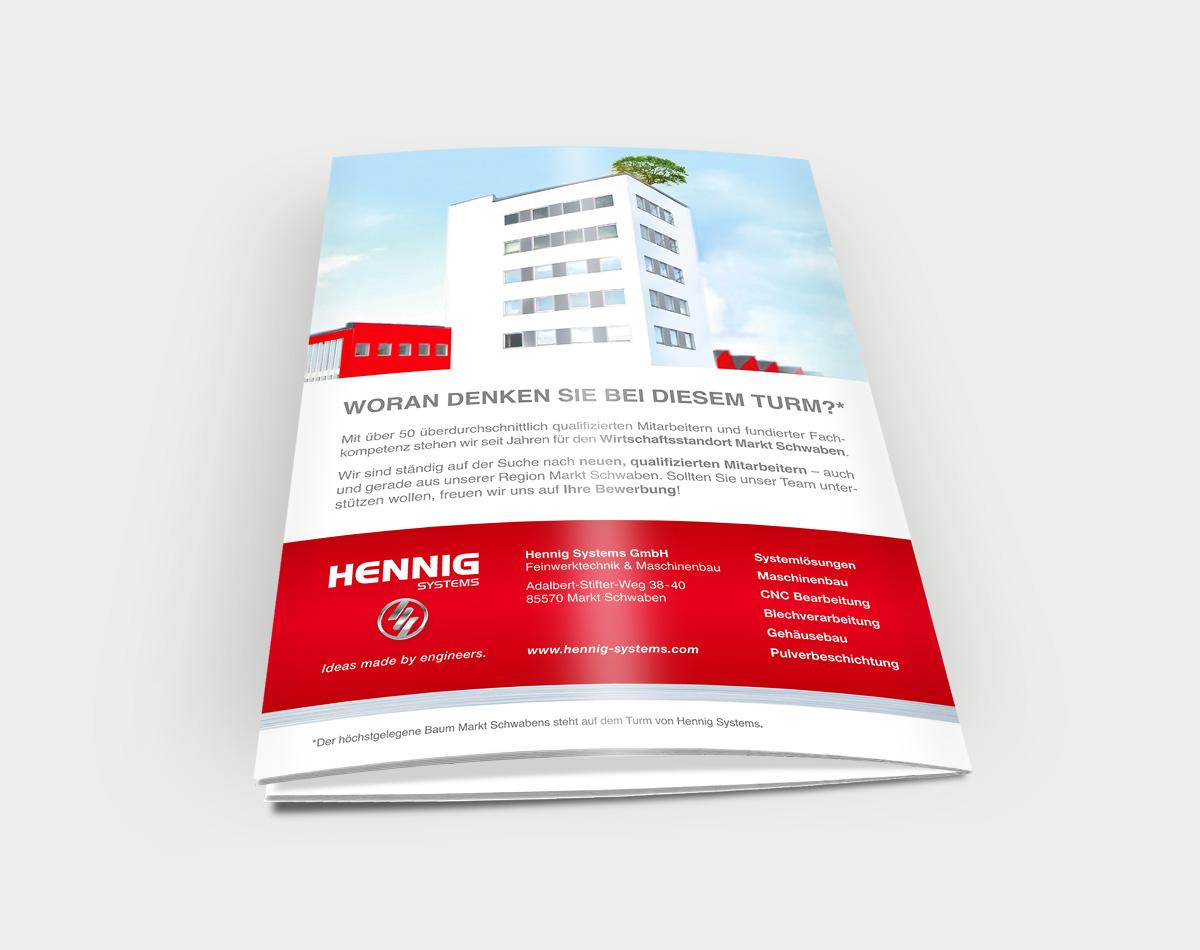 Hennig-Systems-Sales-Anzeige-Print