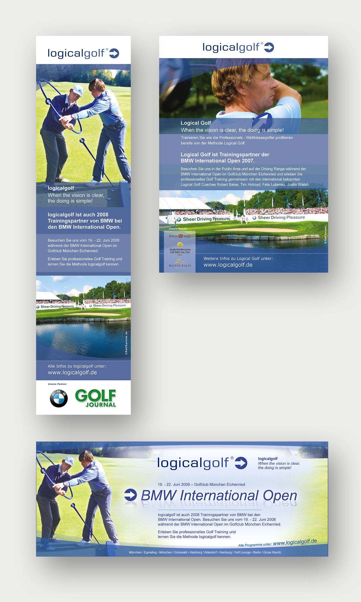 logicalgolf-Anzeigen-BMW-Magazin-Golf-Journal-Golf-Week