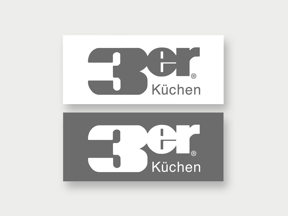 Kuechen-3er-Logo